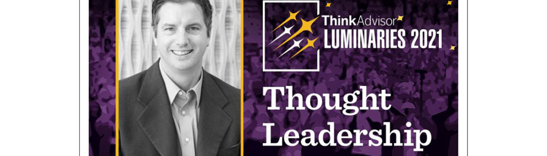 ThinkAdvisor LUMINARIES 2021 Peter Krull Thought Leadership